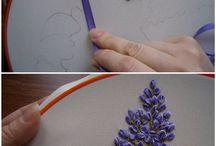 Broderie de fleurs