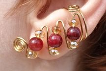 Earcuffs for $19.75 / A selection of ear cuffs, so comfortable, and you don't need pierced ears.