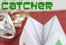 Cootie catchers/ fortune tellers