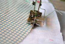 Sewing machine feet / How to use