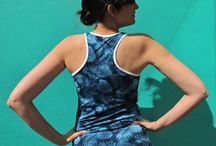 Pienkel Patterns - FJARA top / The FJARA pattern is a tank top pattern with a fun racerback. Available in girls & women's sizes, plus for free in baby sizes at www.pienkel.com