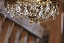 Antique Chandeliers / A beautiful collection of our restored antique chandeliers and light fixtures. Visit us at www.lightladystudio.com.