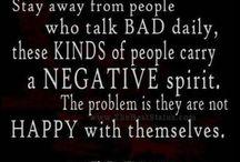 Negativiy / Negative