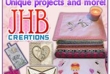 JHB Creations / Creative Machine embroidery Designs