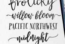 Lettering —> fonty i dodatki