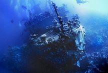 Shipwrecks from beyond the seas