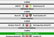 FIXTURES: #RSPL 2017 - 2018 MATCH DAY FIXTURES / This board will keep you upto date on confirmed upcoming match day fixturss