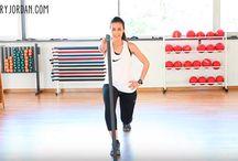 Tonificación y ejercicios / Aquí encontrarás ejercicios de todo tipo para estar en forma, adelgazar y tener un cuerpo 10. Ejercicios para glúteos, para bajar barriga, para tener piernas perfectas...