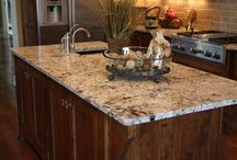 Granite Installations / Samples of our granite installations in kitchens, bathrooms, etc.