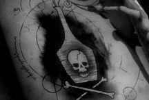 poison bottle tatouage