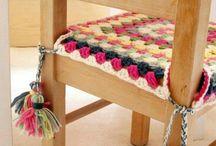 sillas crochet