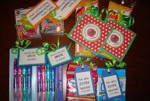 Handmade teacher gift ideas