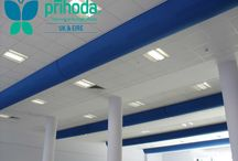 Whitmore School Fabric Ducting - Harrow, London / Prihoda Fabric Ducting supplied to the Canteen and Sports Hall areas at Whitmore High School.