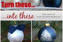 Handmade Holidays / Pin all things handmade for the holidays: Christmas Ornaments, Gift Ideas, Home Decor, Printables