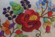 Flores / Todo tipo de flores bordadas