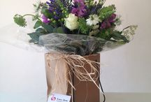 Hand Tied Bouquets / Gorgeous Hand tied designs....