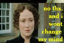 Austentatious with a Bronte good chance of Gaskell / The wonderful world of Miss Jane Austen and the somewhat less wonderful worlds of Mrs Elizabeth Gaskell and the Misses Bronte. / by Ryn Tomas