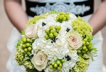 Gorgeous Green wedding ideas / All shades of green for your big day... www.confetti-cones.co.uk