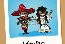 Hola! Mexico / Mexican food recipes / by Pearl Roys