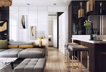 Contemporary interior design style
