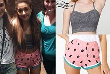Steal her style / Do you love Iggy or Ari's fashion well this is the perfect board  / by Lisa Velasquez