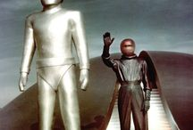 Movie And TV Robopedia / A historical picture resource of robots, androids, cyborgs, super computers, A.I. and mechanical exo/bio suits that have appeared in movies, TV shows, animations, comic books and games.  / by Andrew Gillon