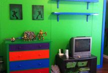 Kyler's Ninja Turtle Room / by Kristy Johnston
