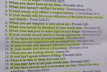 Keep your mouth shut in the Bible
