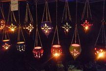 Pottery Lanterns and Lights