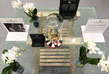 """Mobilier en verre design - Design Glass Furniture / Mobilier en verre design pour la participation de LONGWY Paris au salon """"Maison et objet 2016"""". Design glass furniture for the participation of LONGWY Paris at the """" House 2016 object""""."""
