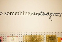 Be Creative Corner / I love to be creative and to share it with others. / by Sonette Bosch