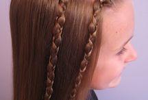 Hairstyles for girls / by Pamela Avila