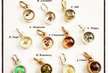 Symbolic herb jewelry
