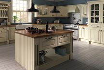 Ivory Westbury Kitchen / Ivory Westbury Kitchen by Bella All Bella doors are available in kitchen, bedroom. standard and made to measure sizes.  Prices start from £7.53.  Complete this look with the Cage Handle (£2.62 each) and Cage Drawer Pull Handle (£3.18 each) and the Prima Natural Block Walnut 0215 worktop, prices from £82.56.  Visit doorsandhandles.uk.com for more details.  For made to measure doors, please email your requirements to info@doorsandhandles.uk.com for a quotation.