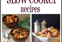 Slow Cooker - Crock Pot Yumminess / Everything you can make in a slow cooker/crock pot