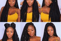 Le Angelique| Box Braids / Looking for a sultry natural look? Here is a board inspired by this summers hottest trend of #BoxBraids that will give you a natural look and maintain the strength of strong hair! #LeAngelique