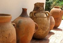 Earthenware / Terra Cotta Pottery / by Bill Shattuck