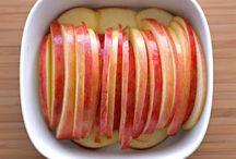 Collation pommes orange cotron