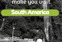 South American travel dream