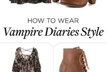 outfit TVD / you can dress like them