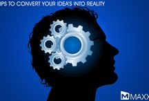 Tips to convert your Idea's into reality (idea to biz reality) / - Keep in mind that your ideas will turn into dust if don't put them into writing - Write a short document about your idea which helps to explain your business ideas to the partners and investors....http://maxxerp.blogspot.in/2014/02/tips-to-convert-your-ideas-into-reality.html