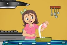 Cake Recipe for Children / Best cake recipe song ever! Try it, it's good! Click to watch and try it. This is a real recipe that children can follow and learn ordinal numbers too.  1st 2 cups of flour then mix,  2nd 1 cup of sugar then mix,  3rd 3 large eggs then mix,  4th 1 cup of milk then mix,   5th 1 stick of butter then mix,   6th tablespoon vanilla then mix,  7th tablespoon baking powder then mix,  and so on