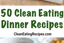 Best Clean Eating Dinner Recipes (Main Dishes) / The best ever clean eating dinner recipes. You won't believe all of the great clean eating main dish recipes there are here. See more great recipes here - https://cleaneatingrecipes.com/category/dinner/