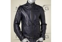Men's Leather Biker Jackets / Men's leather biker jackets are great confidence providing outfit. Leather biker jackets have their own unique styling and perfect for making daring and stylish statements both. These jackets come in various styles, colours and designs that help to enjoy bold and unique look. Protection is the main major aim of a leather motorcycle jacket. Biker is much safe while riding wearing leather biker jacket.
