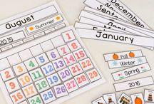 Calendar for toddler