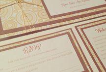 Wedding stationery / Perth wedding stationery by keen eye designz