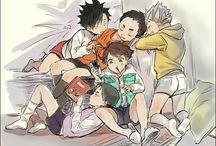 Haikyuu!! other groups (moms, dads, setters, capitans,...)