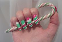 Pictures of Easy Water Marble Nail art Designs