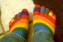 Umm / I used to wear sox like these with platform jandals!!!  I was in my early 's