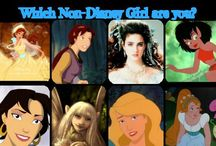 non-disney characters